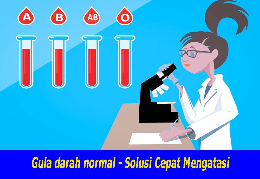 review gula darah normal di JAGO SOLUSI dan LAJUSEHAT